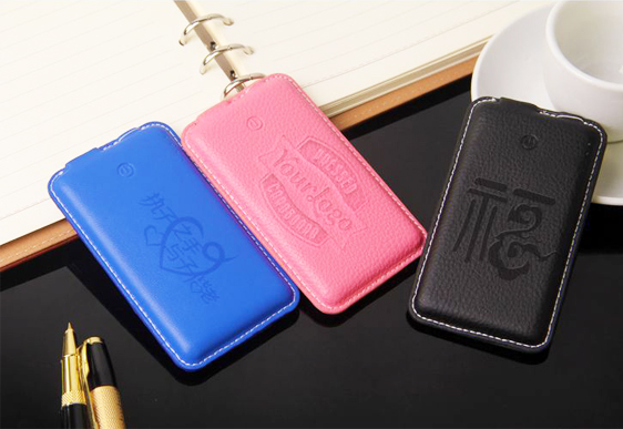Leather Ultra-thin Power Bank ES-P309