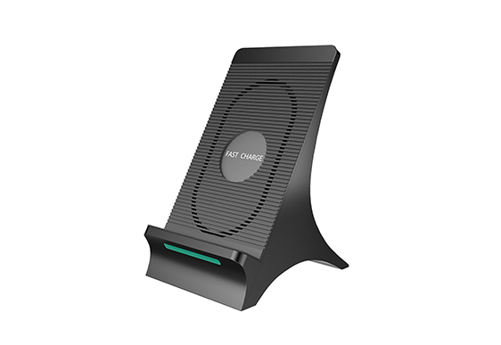 Fast Qi Wireless Charger Stand Pad ES-PS-C215