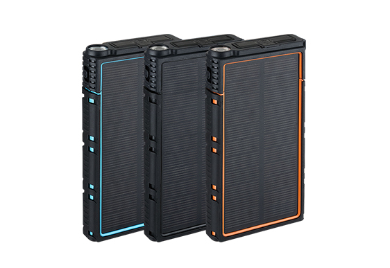 20,000mAh with Solar Power Bank ES-S01